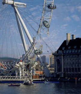 Accident at London Eye